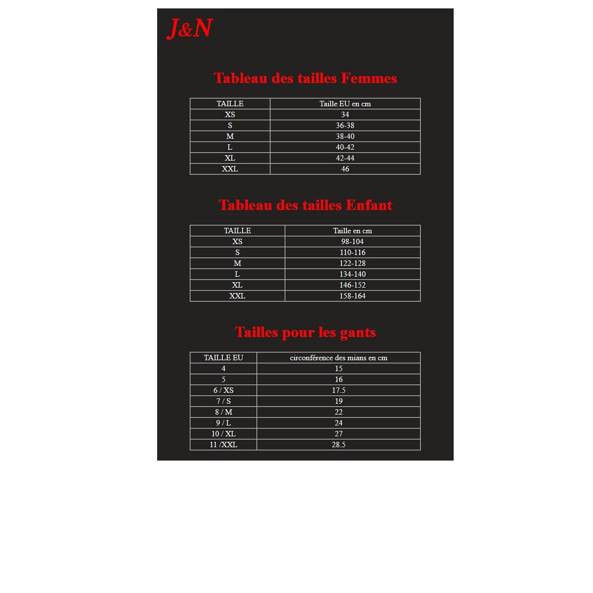 NJ Men's Running Gloves 7 Black by NJ (Image #2)
