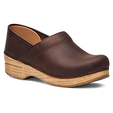 Antique Dansko Oiled 38 Professional Leather Womens Brownblonde Clog trsQdhC