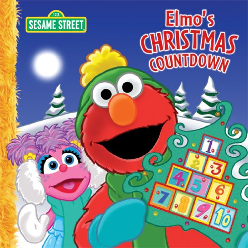 Christmas Counter.Elmo S Christmas Countdown Sesame Street Sesame Street Dalmatian Press See More