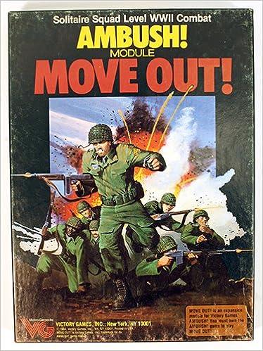 ambush module move out solitaire squad level wwii combat boxed