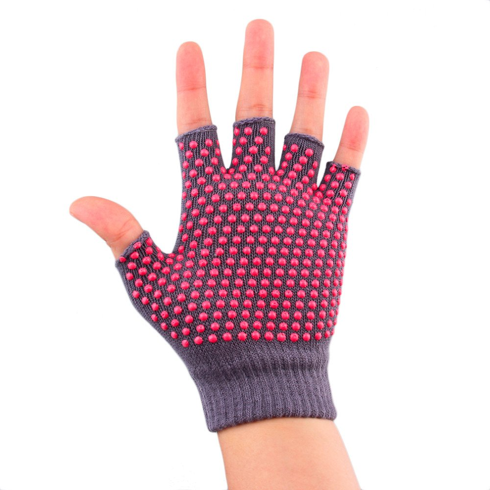 Amazon.com : ezyoutdoor Non Slip Yoga Gloves for Women ...