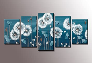 Delightful Youkuartkx90073  Flying Skirt Canvas Prints Dandelion Canvas Wall Art For Wall  Decor Abstract