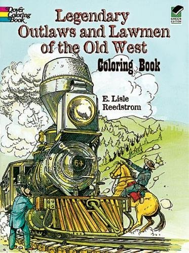 d Lawmen of the Old West Coloring Book (Dover History Coloring Book) ()