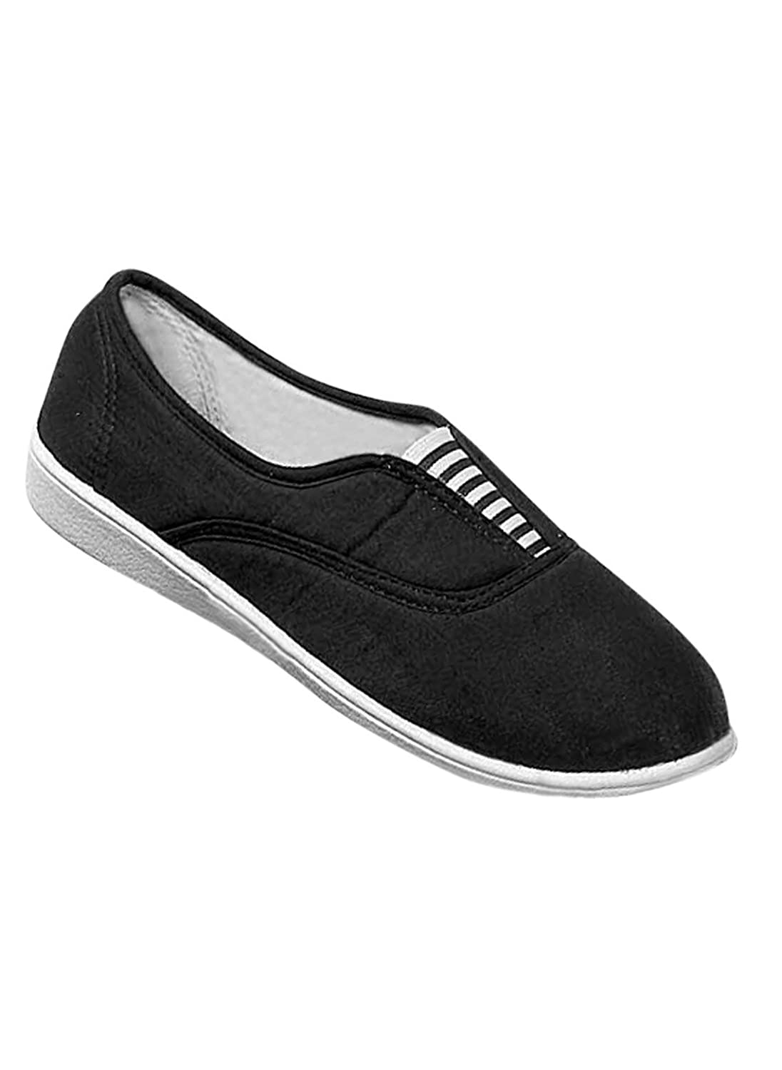 Carefree Canvas Slip-Ons