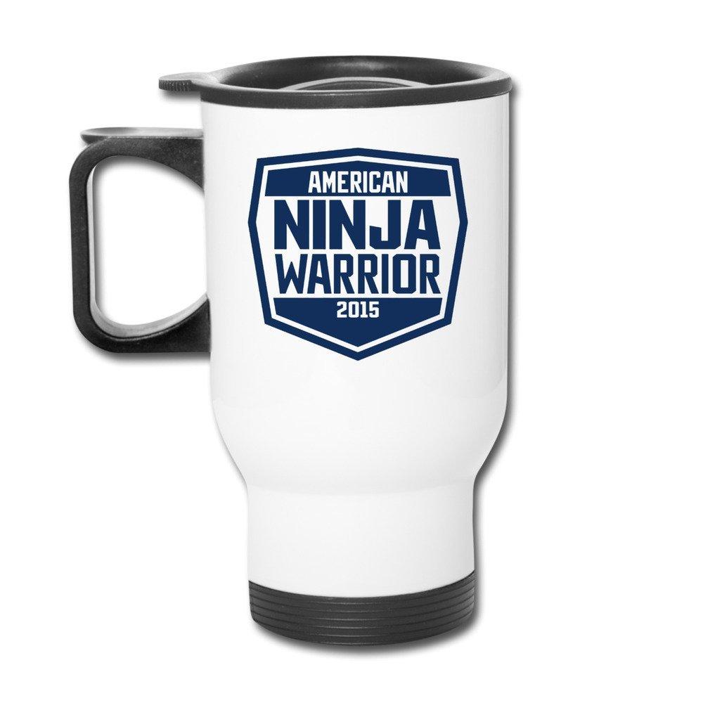 Aislamiento tazas blanco American Ninja Warrior Logo vasos ...
