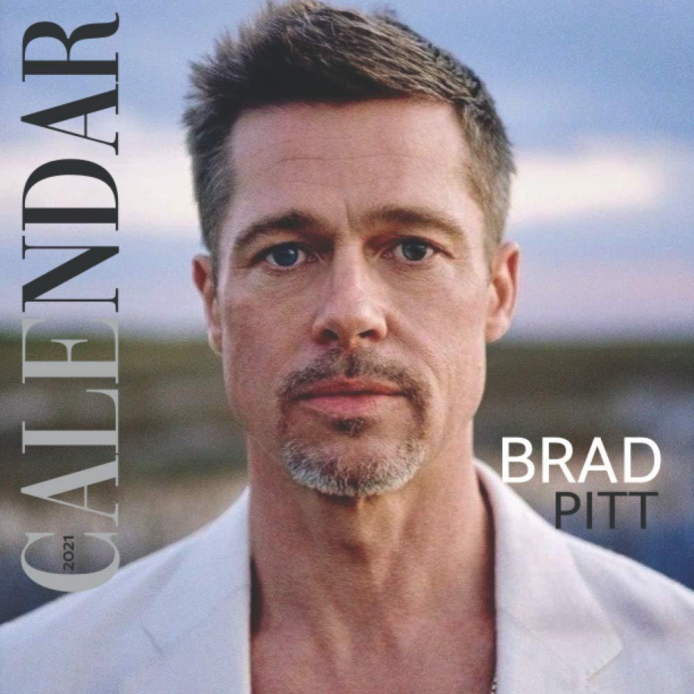 Brad Pitt Calendar 2021: Mini Calendar 2021   12 Months Calendar