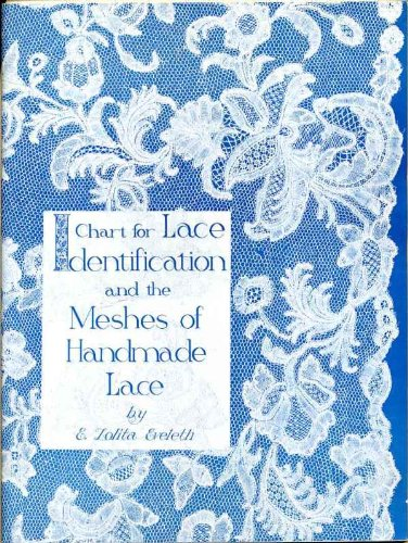 Chart for Lace Identification and the Meshes of Handmade Lace