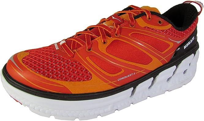 Hoka One One Conquest 2 - Zapatillas para Hombre, Naranja (Orange ...