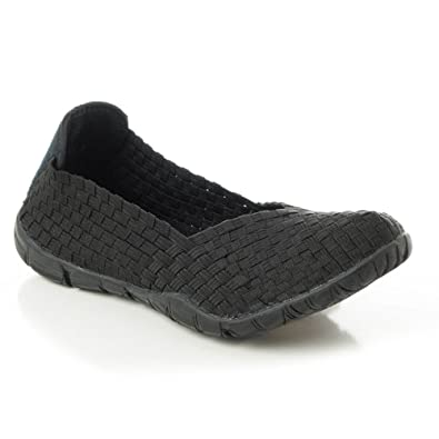 1fcf5ee4ff08a Corkys Sidewalk Womens Slip On 6 B(M) US Black