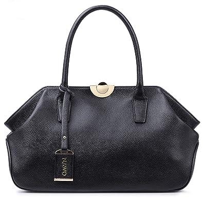 Amazon.com  NAWO Women s Leather Handbags Tote Top-handle Purse Shoulder  Bags On Sale  Shoes dfb09f5d424b1