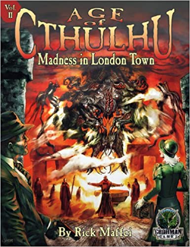,,NEW,, Age Of Cthulhu 2 Madness In London Town. venta Report carry smart cerca dentro change