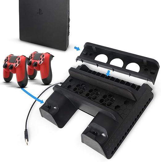 Artistic9 - Ventilador de refrigeración Vertical Delgado para PS4 ...