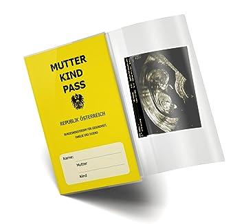 Mutter Kind Pass Hülle 3 Teilig Transparent Muki Pass Schutzhülle