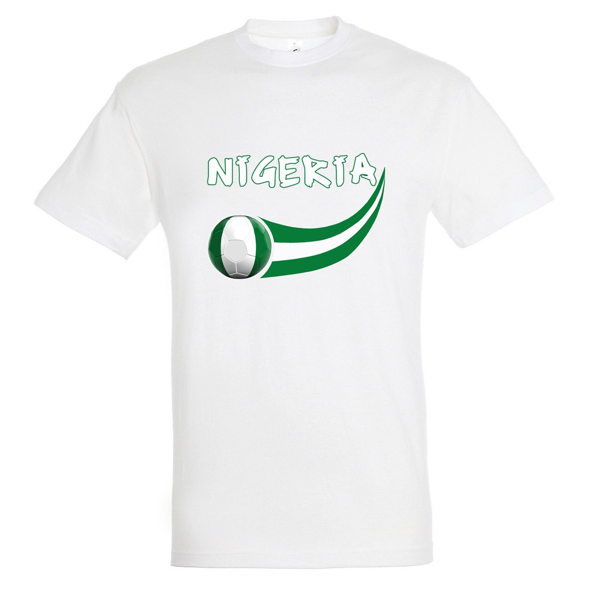Supportershop – Camiseta Nigeria Hombre, Color Blanco, FR: XL ...