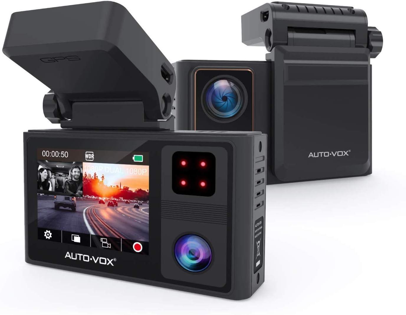 Auto-Vox 1080p Front & Inside Dual Dash Cam  $90.39 Coupon