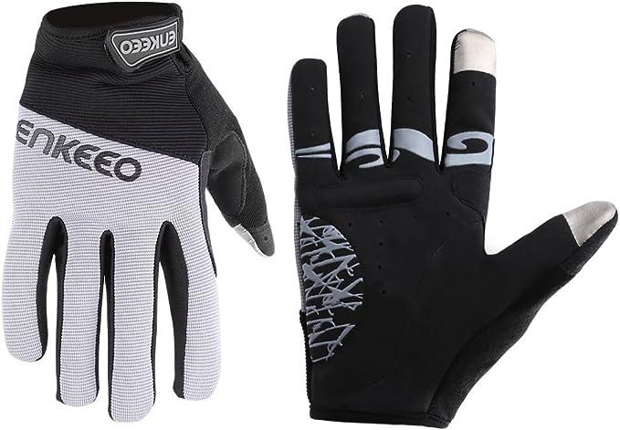 1 Paar Unisex Fahrradhandschuhe Fahrrad Handschuh MTB Radsport Vollfinger