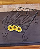 Country Kitchen Dish Rack (Yellow Sunflower)