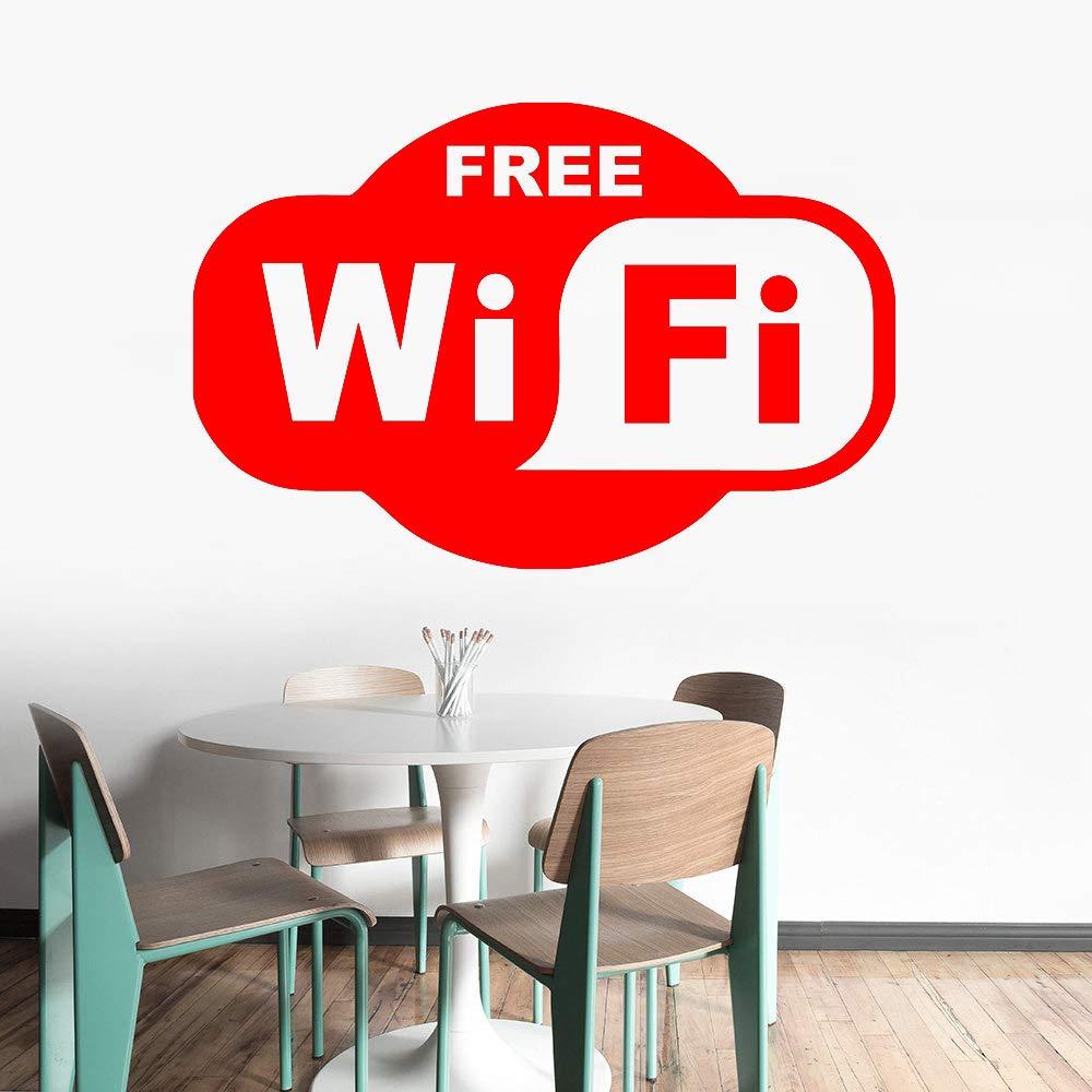 xingbuxin Etiqueta de la Pared de Vinilo WiFi extraíble Zona ...