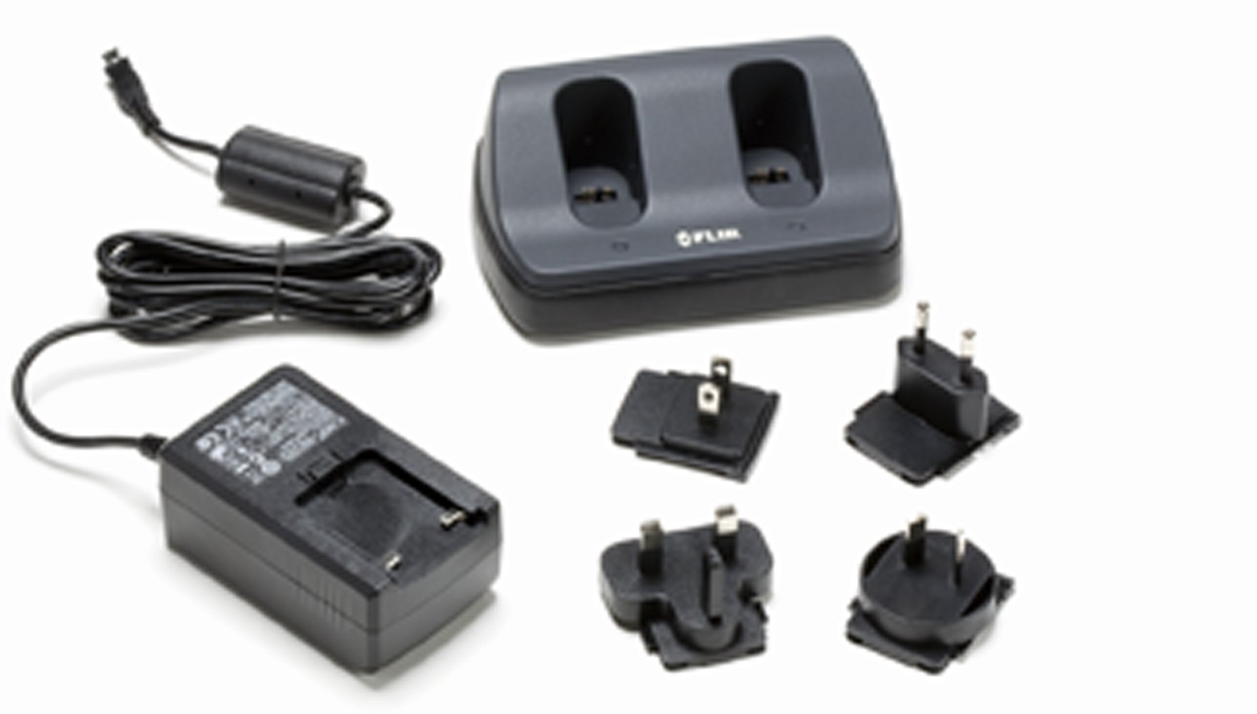 FLIR Stand-Alone 2-Bay Battery Charger for E40, E50, E60 Thermal Cameras by FLIR