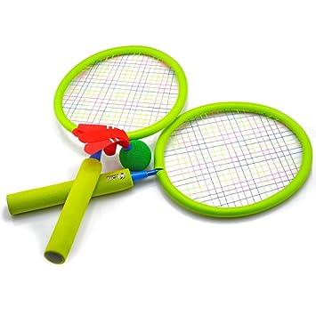 Amazon.com: pinchuanghui Mini Set de bádminton raqueta de ...