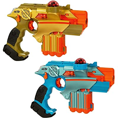 Nerf Lazer Tag Phoenix LTX Tagger 2-Pack ( Exclusive): Toys & Games