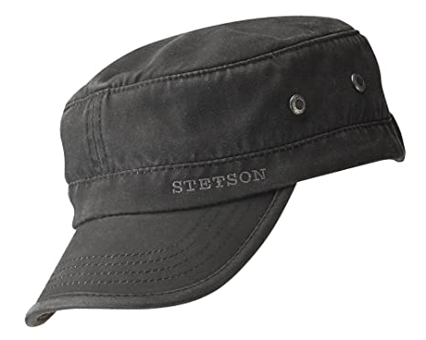 Stetson Datto Military Cap at Amazon Men s Clothing store  62fc6481fbf