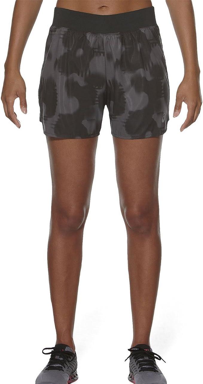 ASICS Damen Oberbekleidung Oberbekleidung Fuzex 5.5 Zoll Print Shorts