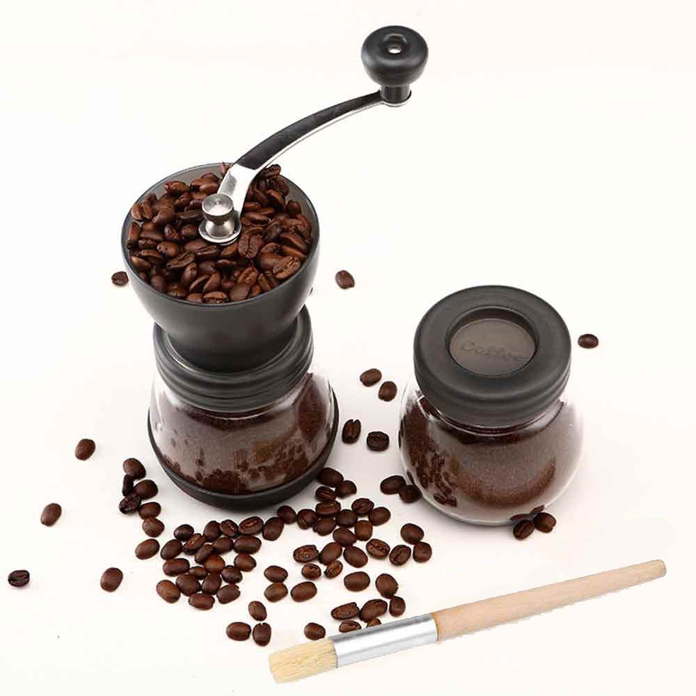 Molinillo de Café Cooko Molinillo de café manual Mini Molino de Café