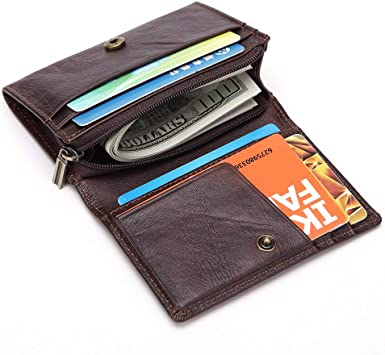 Perfect Fit Bifold Challenge Coin Holder Wallet Credit Card Flip Out USA Made