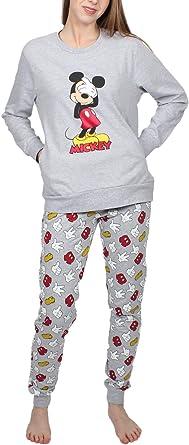 Disney Pijama Manga Larga Mickey Icon para Mujer