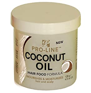 Pro-Line Hair Food - Coconut Oil 4.5 oz. (Pack of 2)