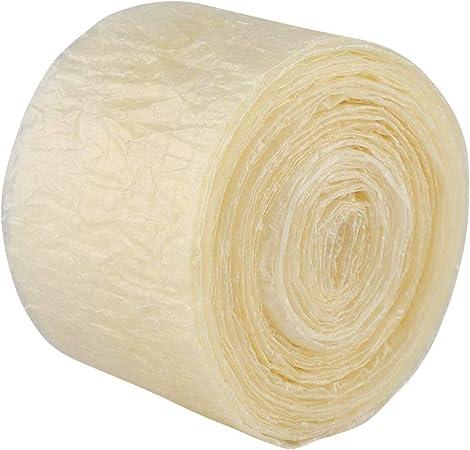 Estuche de salchichas - Estuche de salchichas de secado comestible de 2 capas para salchichas caseras sabrosas Jamón 8m: Amazon.es: Hogar