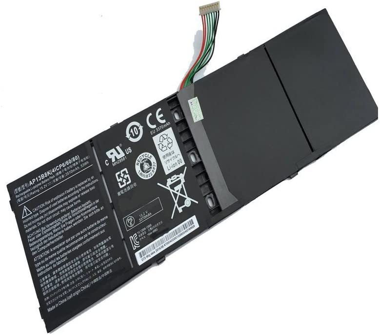 Powerforlaptop Laptop/Notebook Replace Battery for ACER Aspire ES1-511 ES1-512 M5-583P V5-572P V5-572G V5-472G ZQK V5-472 V5-573G V5-573 V7-482 V7-482G V7-482P Series AP13B3K AP13B8K KT.00403.015