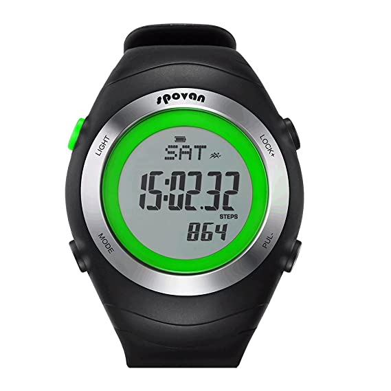 gearfan Salud Reloj Inteligente Funda Deportes Inteligente Reloj Digital con podómetro Fitness Running: Amazon.es: Relojes