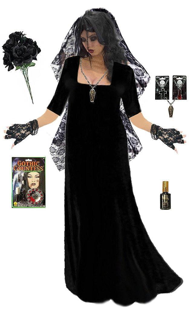 2004140d13c Sanctuarie Goth Corpse Bride Plus Size Supersize Halloween Deluxe Dress Kit