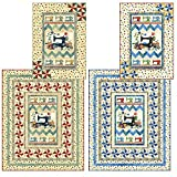 Sew Happy Again Quilt Pattern, Lap (60 by 74 inches) and Wall Hanging (36 by 51 inches), QUILT PATTERN PTN 2251