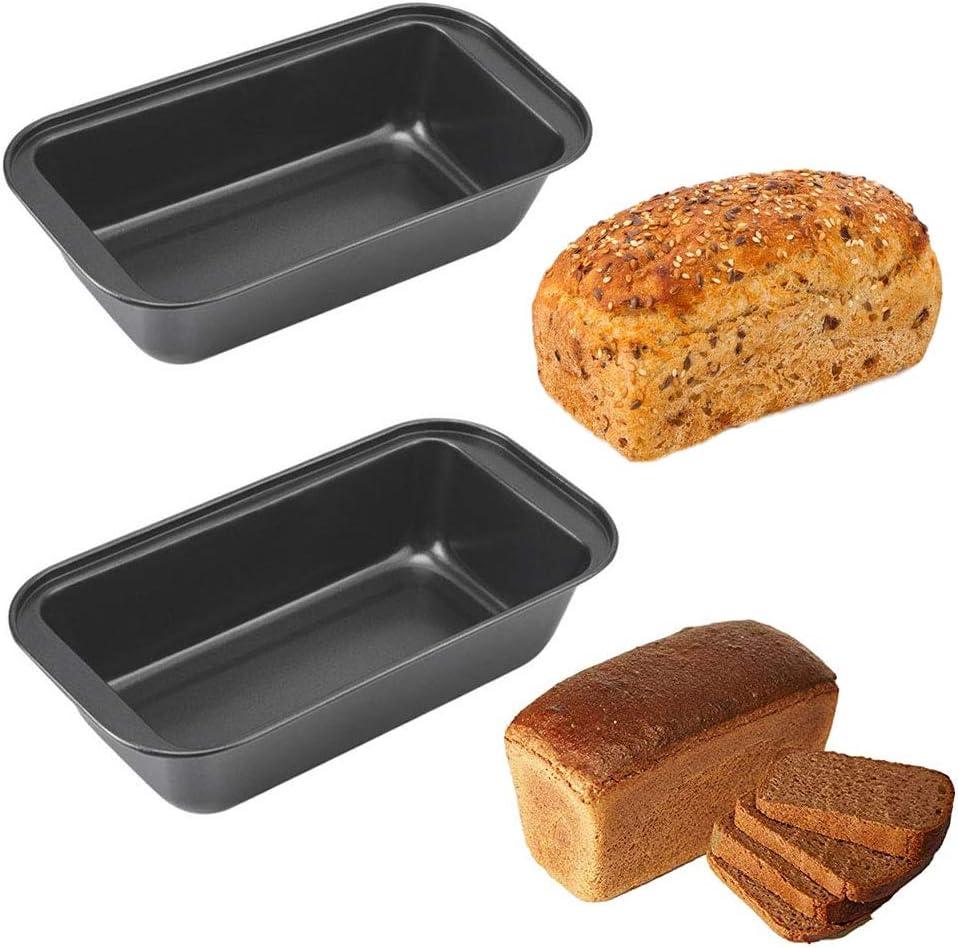 1# Non Stick Carbon Steel Rechteck Toast Laib Pfanne Brot Kuchenform K/äsekuchen Pfanne Laib Geb/äck Backformen K/üchen Backwerkzeug