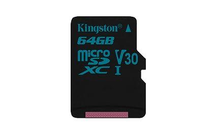 Kingston Canvas Go! SDCG2/64GBSP - Tarjeta MicroSD de 64 GB, Adaptador SD no Incluido