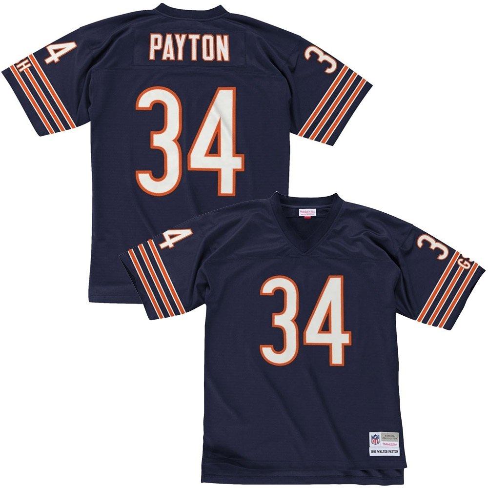 Mitchell & Ness Walter Payton Chicago Bears Throwback pour NFL Maillot Bleu Marine