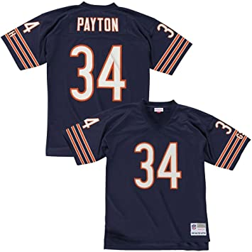 brand new 1bab6 31dc3 Mitchell & Ness Walter Payton Chicago Bears Throwback NFL Jersey Navy