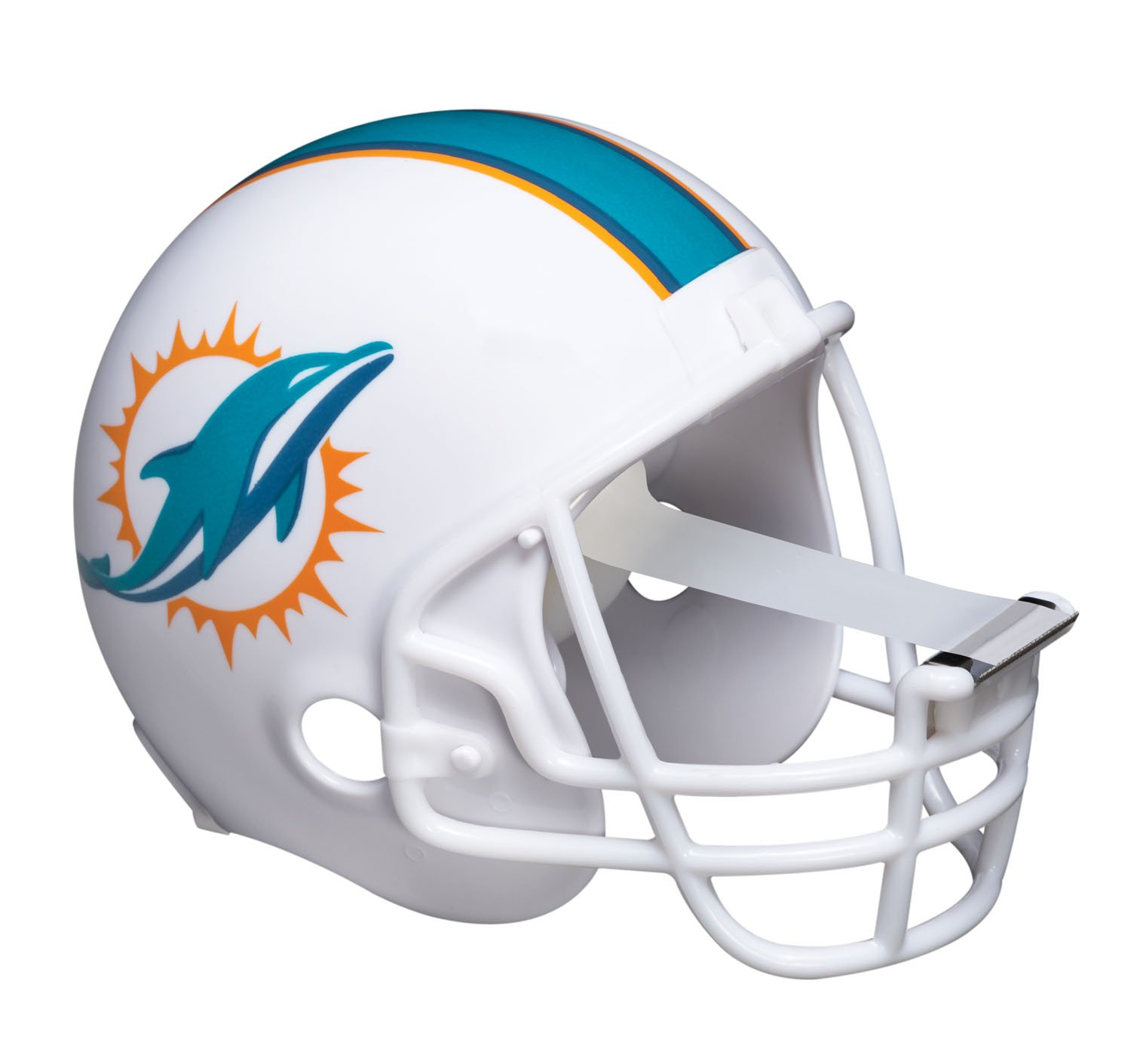 Scotch Magic Tape Dispenser, Miami Dolphins Football Helmet with 1 Roll of 3/4 x 350 Inches Tape