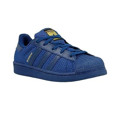 adidas Superstar Nylon Bleu Marine Enfant Bleu 32