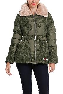 Desigual Abrigo QUILMES 38E2976 Talla/Size 38 Verde