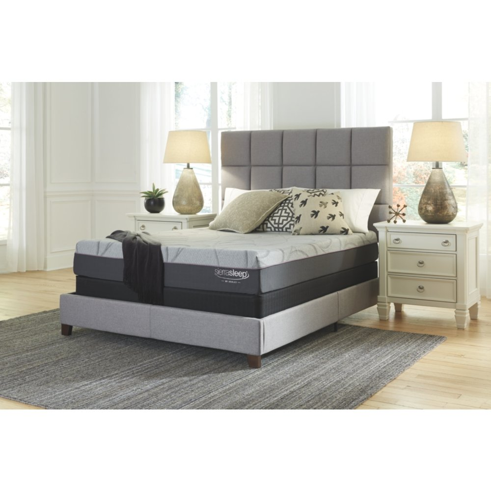 Signature Design by Ashley M89831 Palisades Conventional Bed Mattress, Queen, White