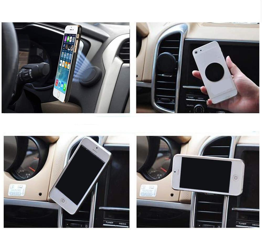 Sikye Magnetic Car Mount Holder Silica Gel Magnet Bracket for Cell Mobile Phone GPS PDA Mount Stand in Car Home