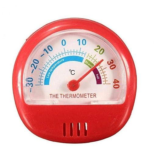 Compra AMOYER Rojo Nevera Congelador La Temperatura del Termómetro ...