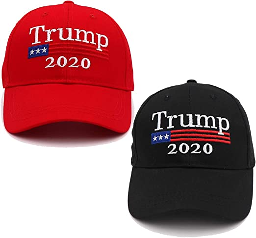 Keep America Great Donald Trump USA Cap Adjustable Baseball Hat Red