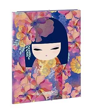 Kimmidoll Kyoka - Carpeta folio con 3 solapas, 260 x 365 mm ...