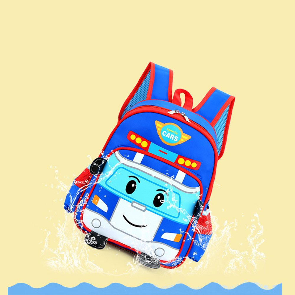 Amazon.com | TweetQue Cute 3D Cartoon Car Nursery Kindergarten Toddlers Backpack Baby Kids School Book Bag for Boys Girl (Blue) | Kids Backpacks