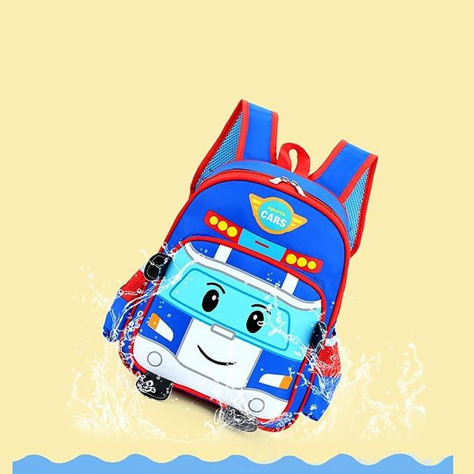 Amazon.com | TweetQue Cute 3D Cartoon Car Nursery Kindergarten Toddlers Backpack Baby Kids School Book Bag for Boys Girl (Blue) | Kids Backpacks